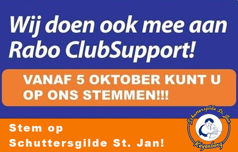 Rabobank Clubsupport Stem op ons!
